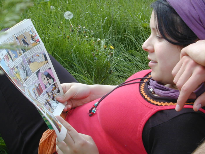 Tag 03 - 07 Comics lesen