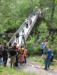 Falls of Measach - Die Brücke
