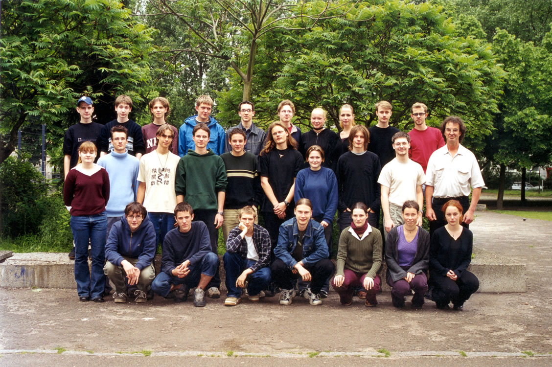 Klassenfoto 11-6 - 2001_2002