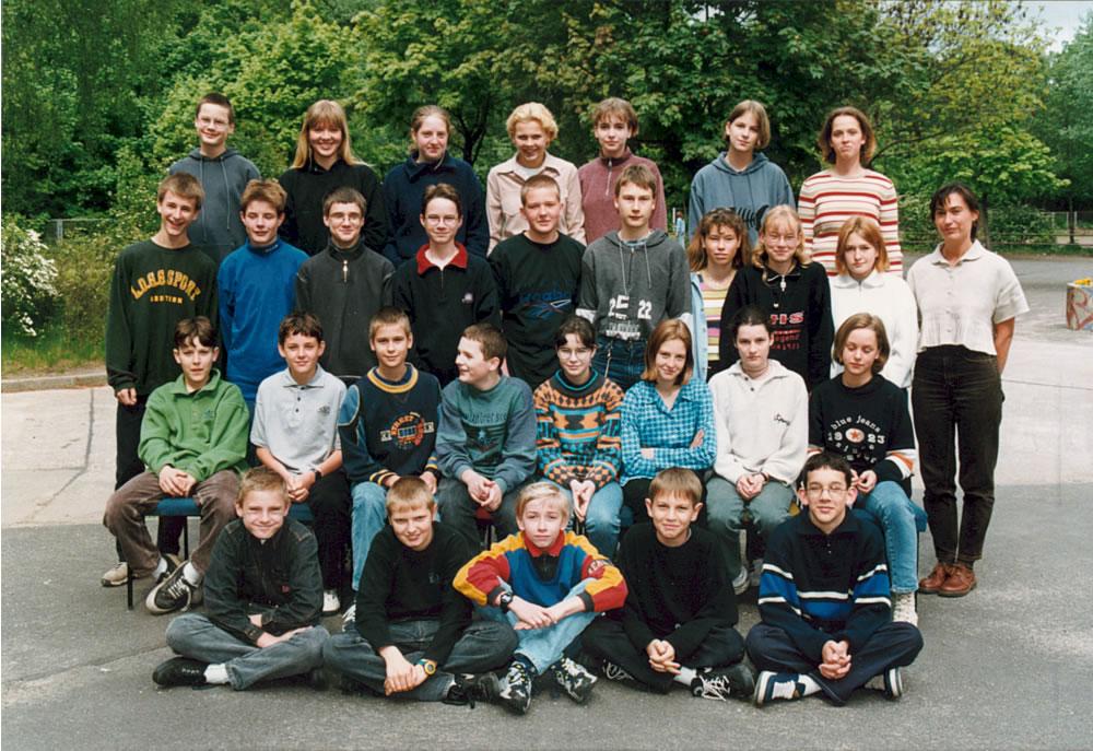 Klassenfoto 8-4 - 1998_1999