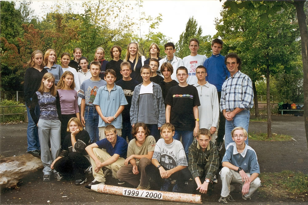Klassenfoto 9-4 - 1999 2000