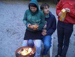 eileen grillt (nicht felix)