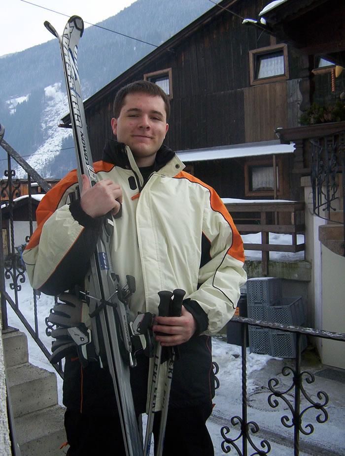 bart mit skiern